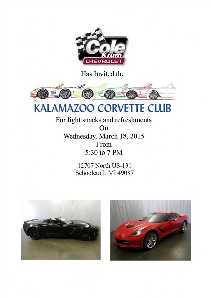 Cole Krum Winter Meet and Greet @ Cole Krum Chevrolet | Schoolcraft | Michigan | United States